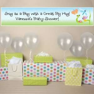 Banner   Snug As A Bug Personalized Baby Shower Banner