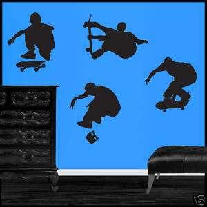 Large Skateboard Skateboarding Vinyl Wall Art Decals