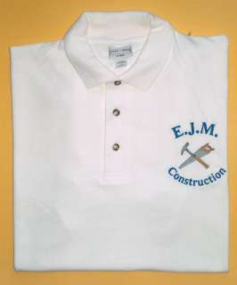 Personalized Cusom Logo Small BUSINESS Adverise Mens POLO Spors