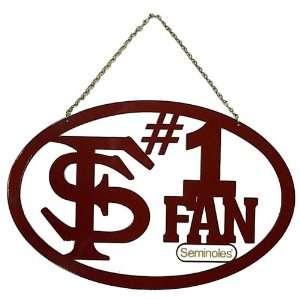 Florida State Seminoles FSU NCAA Hanging Sign Sports