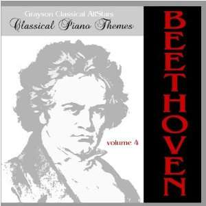 Piano Themes Beethoven Volume 4: Grayson Classical All Stars: Music
