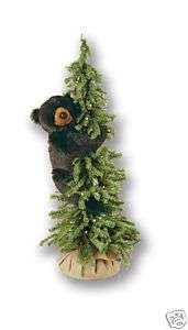 40 Ditz Pre Lit Christmas Tree w/ Black Bear