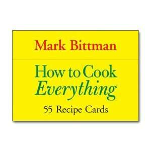 How to Cook Everything  55 Recipe Cards: Home & Kitchen
