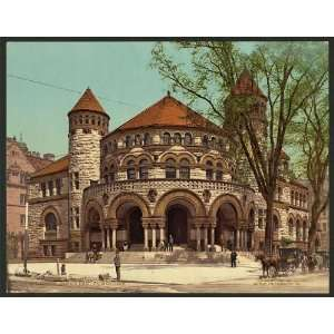 Osborn Hall,Yale College,university,Connecticut,c1901