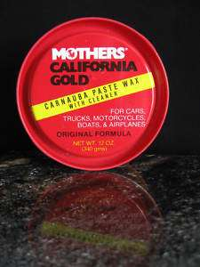 MOTHERS CALI GOLD Carnauba Wax Cleaner Paste #05500