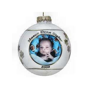 Personalized Snowflake Photo Ball Ornament Everything