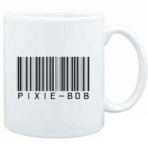 Mug White  Pixie Bob BARCODE  Cats