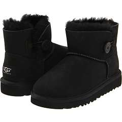 UGG Kids Mini Bailey Button (Youth)    BOTH