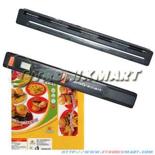 NEW Color Mini Handy Hand Held Portable Scanner 600dpi