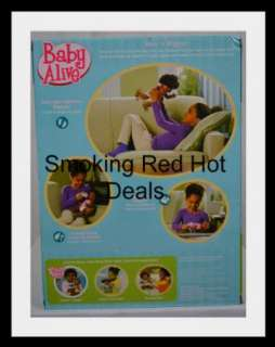 Baby Alive Wets N Wiggles African American Doll Kicks Wets Drinks
