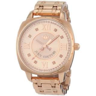 Juicy Couture Womens 1900807 Beau Rose gold Plated Bracelet Watch