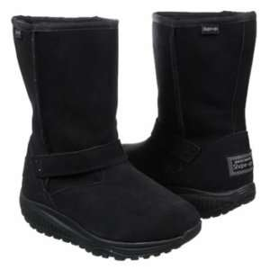 Skechers SHAPE UPS XW Bollard Boots Black Women NIB