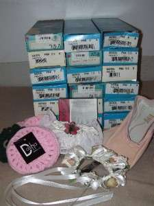 MIXED LOT OF NEW DANCE SHOES, & ACCESSORIES 24