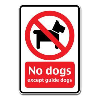 No Dogs Allowed Sign Wall Window Car Vinyl Sticker Decal Mural   Pick