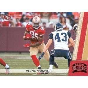 2011 Panini Threads Silver #128 Vernon Davis /250