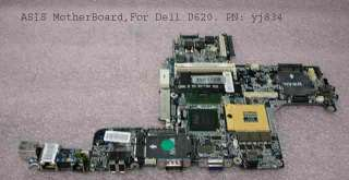 Dell Latitude D620 Motherboard Systemboard AS IS YJ834