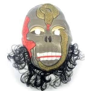 weird oodd Cheek Facial Halloween Masquerade Mask: Toys & Games