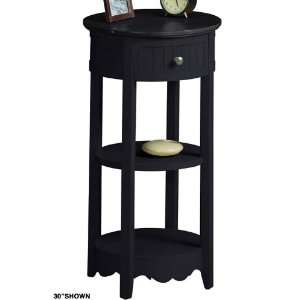 Anywhere Table/telephone Stand 42h Disrd Black