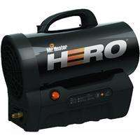 Mr Heater Hero Cordless Quiet Propane Space Heater F227900