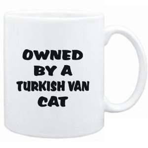 Mug White  OWNED by s Turkish Van  Cats