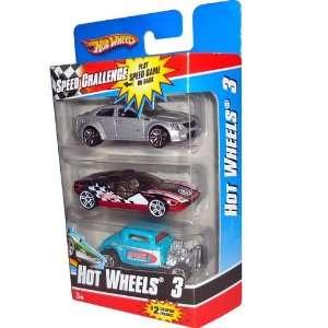2010 2011 Hot Wheels 3 pack 09 Cadillac CTS V (silver