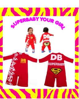 Toddler Baby Girl Hip Hop TrackSuit Romper Sporty Athlete Sports wear