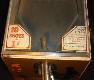 ABT Challenger Target Shoot Arcade Game 1930s 1950s Great Condition