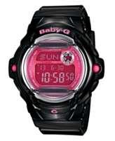 Baby G Watch, Womens Black Resin Strap BG169R 1B