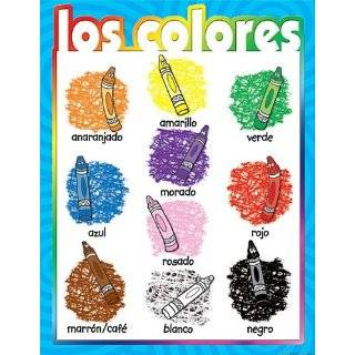 Teacher Created Resources Colors (Spanish) Chart, Multi Color (7686)