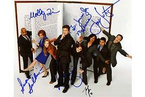 Castle Full Cast Nathan Fillion Stana Katic Susan Sullivan Signed