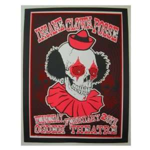 Insane Clown Posse Silk Screen Poster ICP Lindsey Kuhn Home & Kitchen