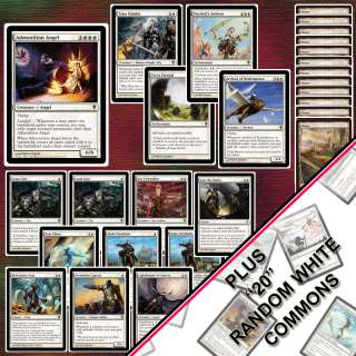 MTG   Magic ADMONITION ANGEL   TOURNAMENT DECK