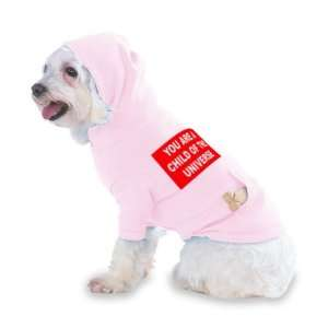 UNIVERSE Hooded (Hoody) T Shirt with pocket for your Dog or Cat Size