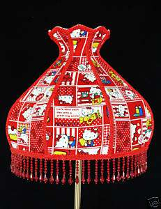 HAND MADE HELLO KITTY GORGEOUS TABLE LAMP SHADE
