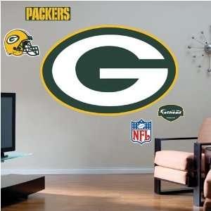 Green Bay Packers Team Logo Fathead Wall Sticker Sports
