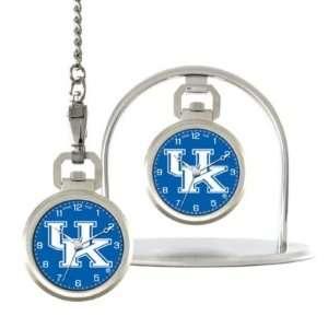Kentucky Wildcats Game Time NCAA Pocket Watch/Desk Clock