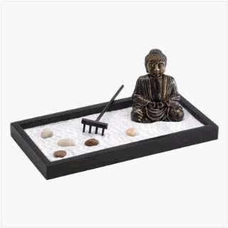 Zen Garden Bronzed Finished Buddha
