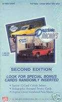 DREAM MACHINES SERIES 2 1992 TRADING CARD BOX