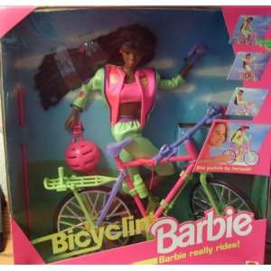 Bicyclin Barbie   African American