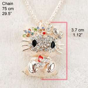Jewelry ~ Hello Kitty Jewelry ~ Multi Color Hello Kitty Necklace