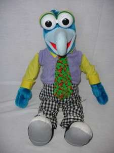 Puppets Gonzo Piggy Kermit VHS Jim Henson Large Plush Stuff Dolls