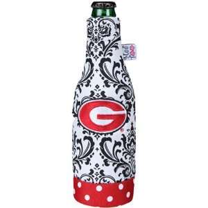 NCAA Georgia Bulldogs 12oz. White Wallpaper Canvas Bottle