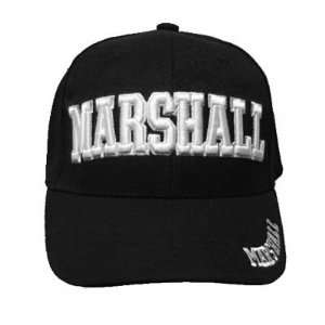 BLACK MARSHALL BASEBALL CAP HAT LAW ENFORCEMENT US ADJ