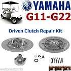 yamaha g11 g22 1993 up golf cart driven clutch repair