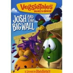 DVD Veggie Tales Josh & The Big Wall Movies & TV