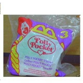 McDonalds Happy Meal Toy Polly Pocket #1 Polly Puppy Carrier   Vintage