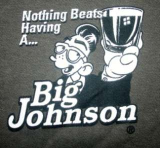 Big Johnson T Shirt Retro Tequila