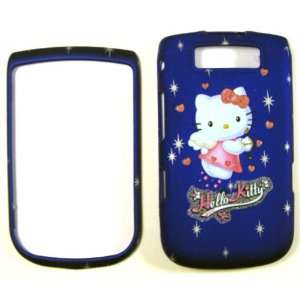 Hello Kitty Blue Blackberry Torch 9800 Faceplate Case Cover