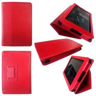 Case Cover for  Kindle Fire Tablet + Skin Accessory RED02