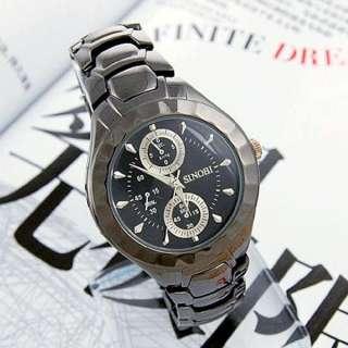 SINOBI Japan movement Fashion charm dress value lady men Wrist Watch